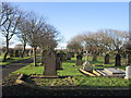 NZ3179 : Blyth Links Cemetery by Ian S