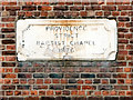 SJ5596 : Baptist Chapel Datestone by David Dixon