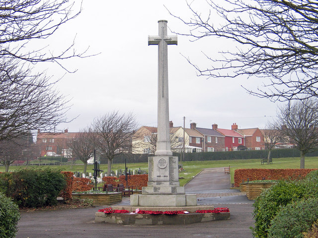 War memorial, Easington Colliery