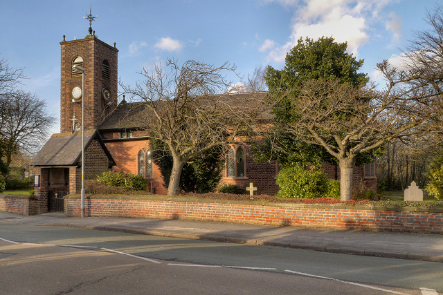 St Michael & All Angels  Church, Burtonwood