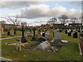 SJ5692 : The Cemetery, Burtonwood by David Dixon