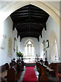 TL2437 : St Vincent's Church, Newnham, Interior by Alexander P Kapp
