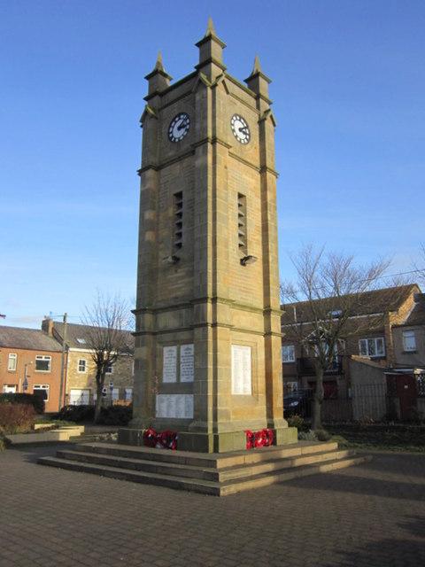 War Memorial, Amble
