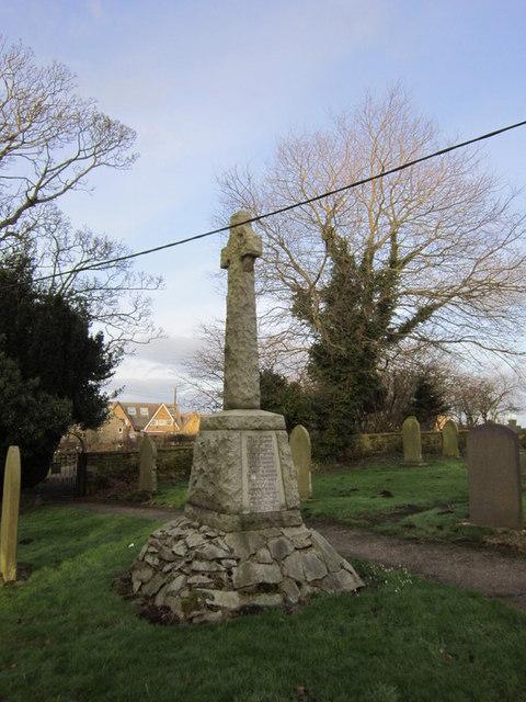 War Memorial, Widdrington Village