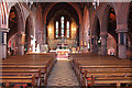 TQ3190 : St Mark, Noel Park - East end by John Salmon