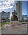 SJ8498 : Piccadilly Gardens by David Dixon