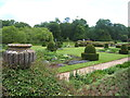 TG1728 : Topiary Garden, Blickling Hall by Barbara Carr