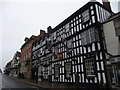 SO7137 : The Feathers Hotel, Ledbury by Jeremy Bolwell