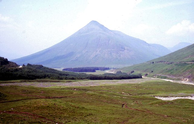 View North towards Ben Dorain, Tyndrum, Scotland