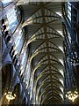 TQ1906 : Vaulted roof, Lancing College Chapel by nick macneill
