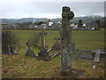 NY5218 : Old cross, Bampton Grange by Karl and Ali