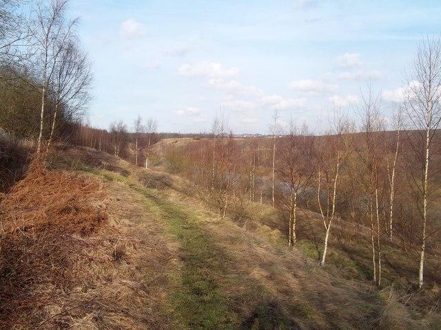 Footpath Near Pye Bridge Junction  U00a9 Jonathan Clitheroe