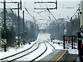 TL1314 : Harpenden railway station in the snow : Week 7