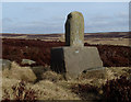 SK2778 : Lady's Cross on Big Moor by Andrew Hill