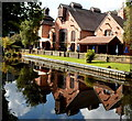 SO8275 : The Watermill pub and its reflection, Kidderminster by John Grayson