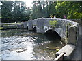 SK1969 : Sheepwash Bridge and River Wye, Ashford in the Water - 1 by Terry Robinson