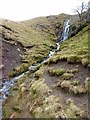 NY2926 : Waterfall on tributary of the Glenderaterra Beck by Oliver Dixon