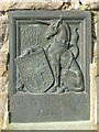 SO8000 : Plaque on entrance to King George's Field by John M