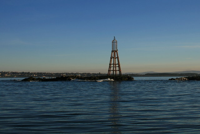Beacon on the Halliman skerries