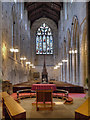 NY9364 : Hexham Abbey, Nave by David Dixon