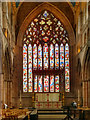 NY3955 : Carlisle Cathedral, High Altar and East Window by David Dixon