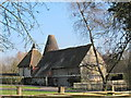 TQ3950 : Stockett's Manor Oast, Gibb's Brook Lane, Oxted by Oast House Archive