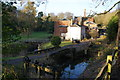 SJ8382 : The water supply above Quarry Bank Mill by Bill Boaden