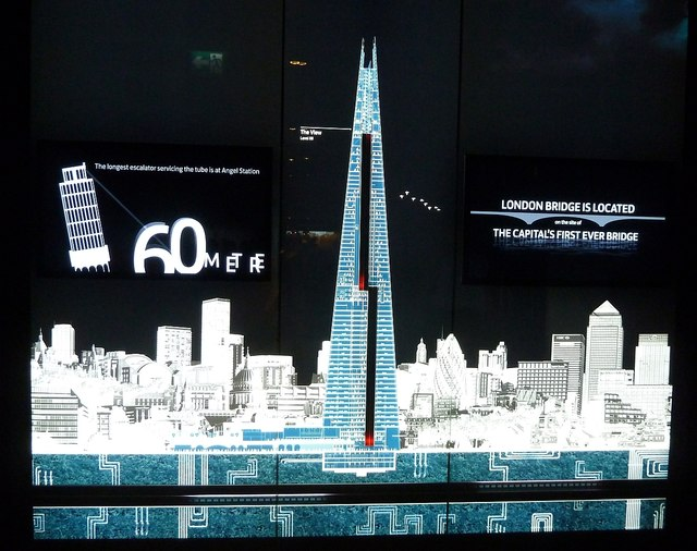 Illuminated Diagram Of The Shard 169 Rob Farrow Cc By Sa 2 0