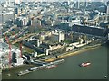 TQ3380 : The Tower of London from The Shard by Rob Farrow
