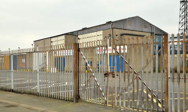 The Railway Stand Windsor Park Belfast C Albert