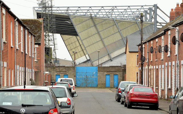 The West Stand, Windsor Park, Belfast (2013-3)