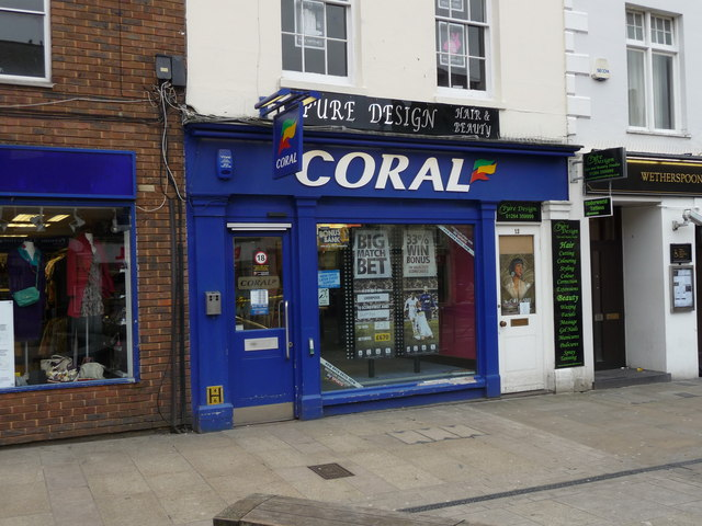 nearest coral betting shop