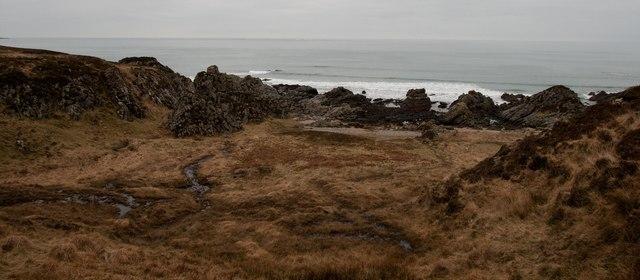 Coastline north of Gortantoid, Islay