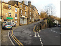 SE1408 : Holmfirth, South Lane by David Dixon