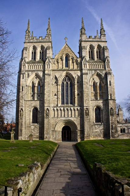 West Front, Selby Abbey