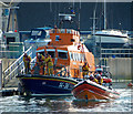 J5082 : Two lifeboats at Bangor by Rossographer