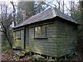 SX6887 : Hut, Milfordleigh by Derek Harper