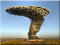 SD8528 : The Singing Ringing Tree above Burnley by David Dixon
