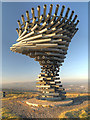 SD8528 : The Singing Ringing Tree at Crown Point by David Dixon