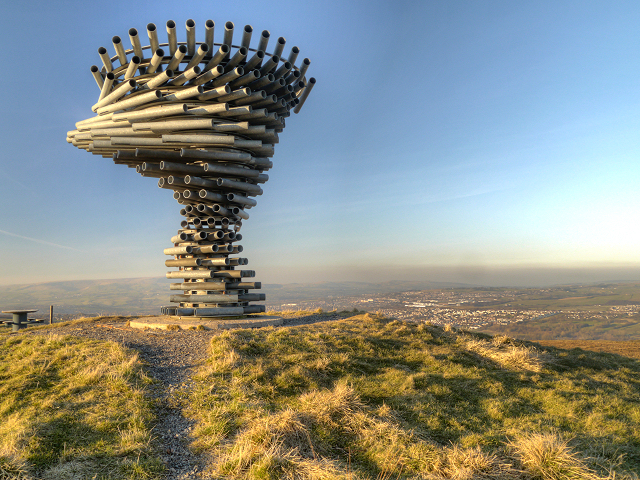Singing Ringing Tree, Panopticon for Burnley