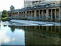 ST7564 : Pulteney Weir, Bath by John Grayson