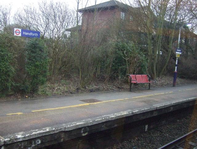 Platform, Handforth Railway Station