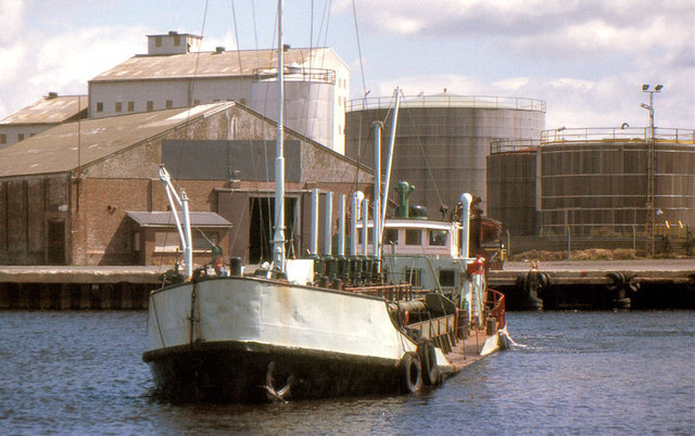 "The ""Tredagh"" at Arklow (1988)"
