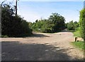 TL3876 : Meadow Drove/Holme Drove junction by Andrew Tatlow