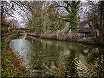 SU1361 :  Bowden's Bridge.. Kennet & Avon Canal by Gillie Rhodes