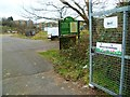 SU4512 : Entrance to Bitterne East Allotments by Shazz