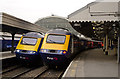 TQ2681 : HSTs at Paddington by TheTurfBurner