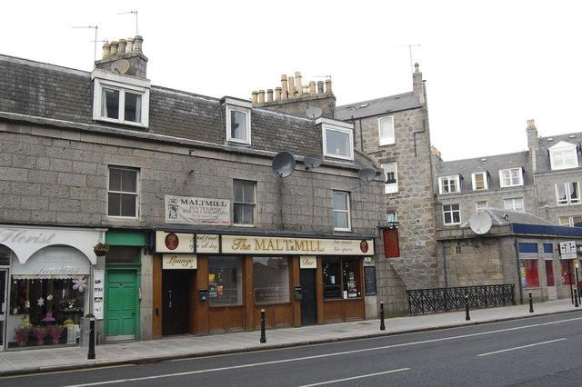 The Malt Mill Holburn Street Aberdeen 169 Bill Harrison Cc