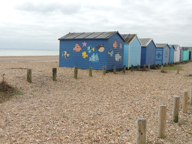 Beach Huts - Hayling Island
