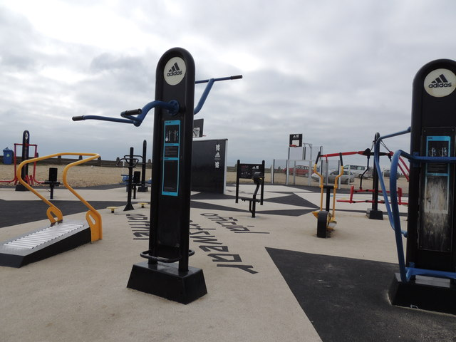 Public Gym Equipment - Hayling Island